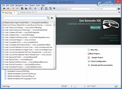 Komodo Edit Screenshot3