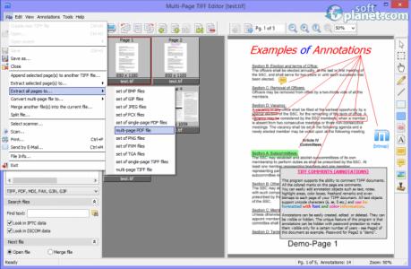Multi-Page TIFF Editor Screenshot2