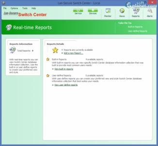 Lan-Secure Switch Center Screenshot4
