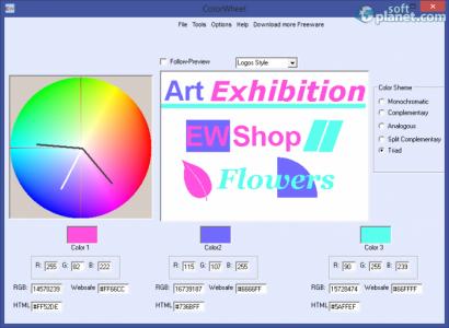 Free Colorwheel Screenshot3