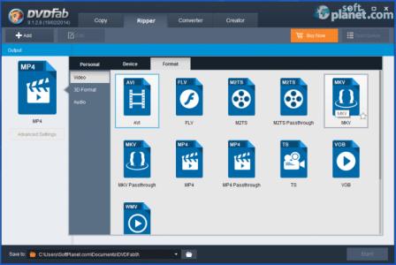 DVDFab 3D Video Toolkit Screenshot3