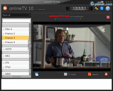 onlineTV Free Screenshot3