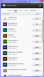 Adobe Creative Cloud Screenshot2
