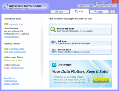 Spyware Terminator 2012 Screenshot2