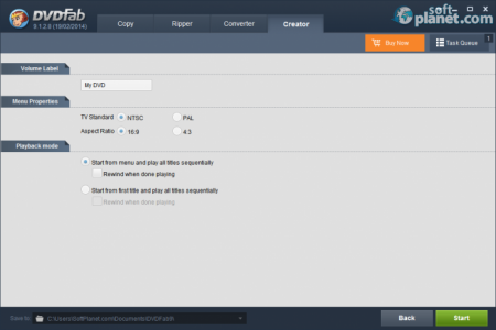 DVDFab DVD Creator Screenshot5