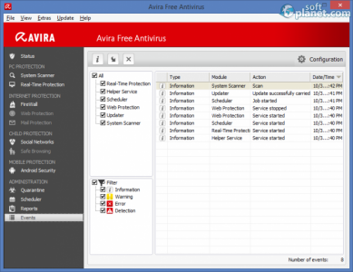 Avira Free Antivirus Screenshot3