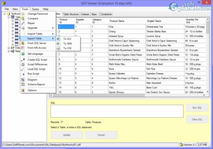 SDF Viewer Screenshot2