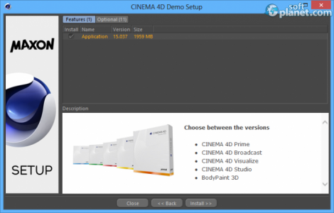 CINEMA 4D Screenshot4