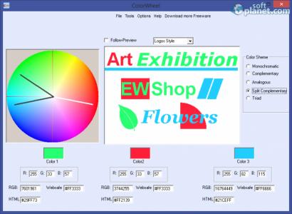 Free Colorwheel Screenshot2