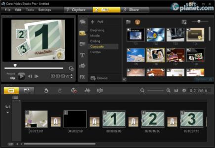 Corel VideoStudio Pro Screenshot3