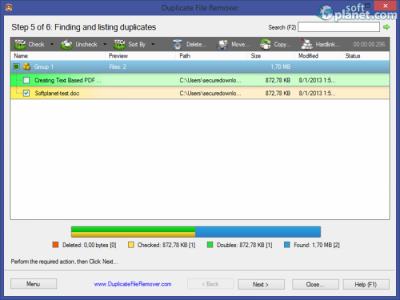 Duplicate File Remover Screenshot5