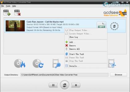 ACDSee Video Converter Free Screenshot2