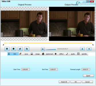 Bigasoft Zune Video Converter Screenshot2