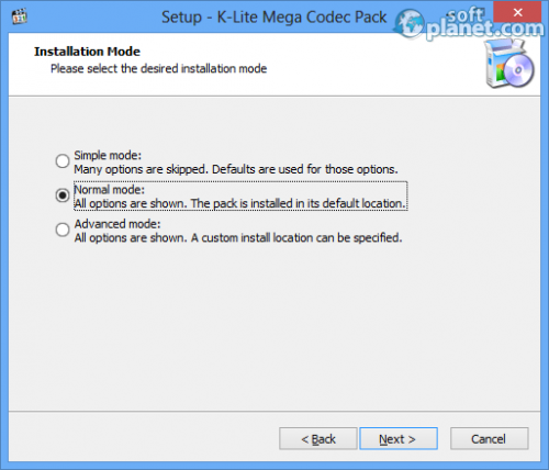 K-Lite Mega Codec Pack Screenshot5