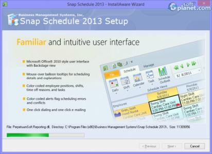 Snap Schedule 2013 Screenshot2
