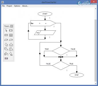 devFlowcharter Screenshot2