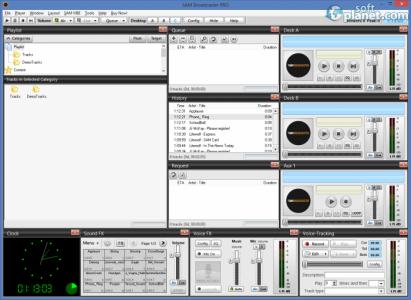 SAM Broadcaster Screenshot3