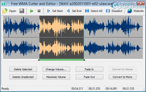 Free WMA Cutter and Editor Screenshot2