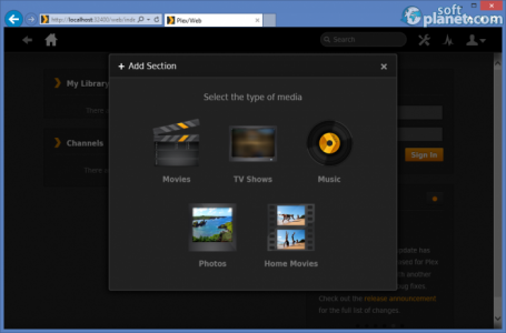 Plex Media Server Screenshot2
