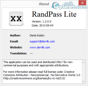 RandPass Screenshot2