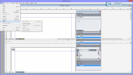 QuarkXPress Screenshot3