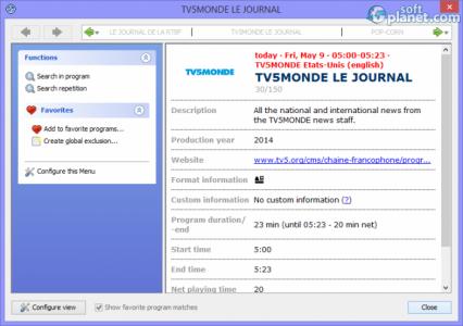 Portable TV-Browser Screenshot3
