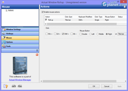 Actual Window Rollup Screenshot3
