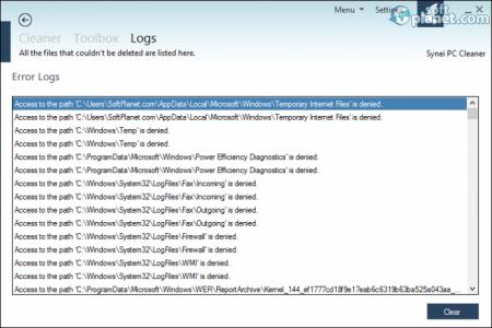 Synei PC Cleaner Screenshot4