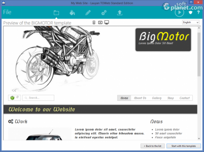 TOWeb Screenshot2