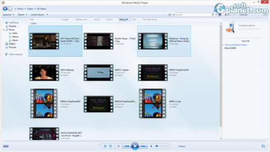Windows Media Player Screenshot2