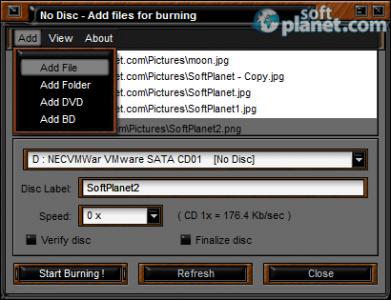 Easy Disc Burner Screenshot2