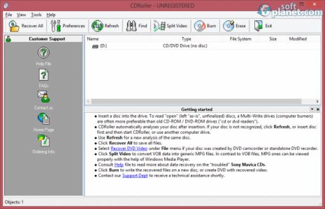 CDRoller Screenshot3