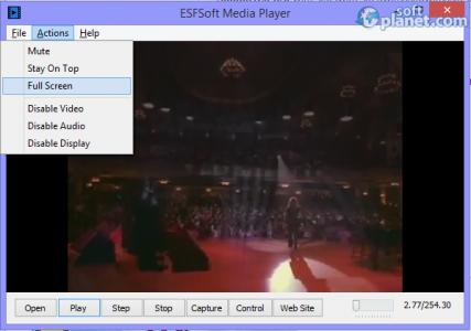 ESFSoft Media Player Screenshot2