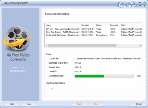 All Free Video Converter Screenshot4
