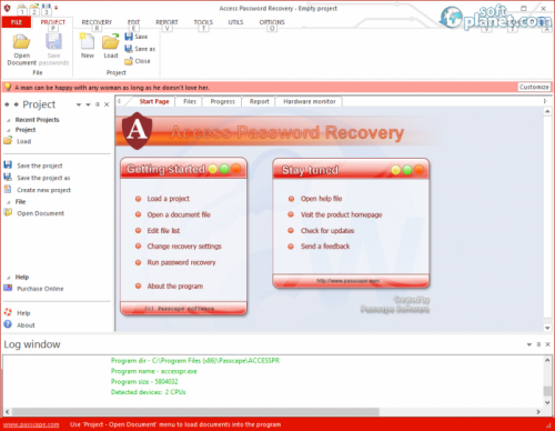 access password recovery portable download ru