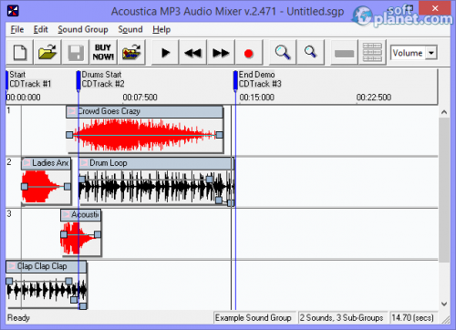 Acoustica MP3 Audio Mixer 2.471