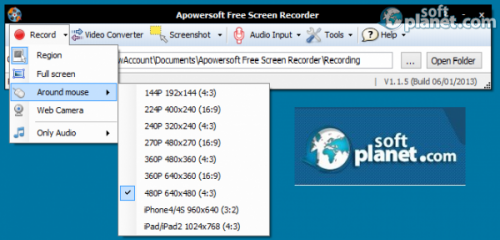 Apowersoft Free Screen Recorder 1.1.5