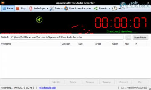 Apowersoft Free Audio Recorder 3.4.3