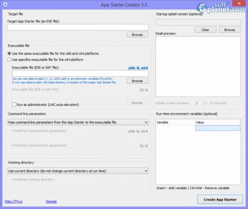 App Starter Creator 1.3.8.54