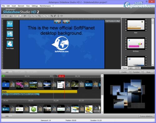 Ashampoo Slideshow Studio HD 2 2.0.6.2