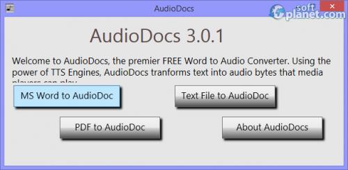 AudioDocs 3.0.1