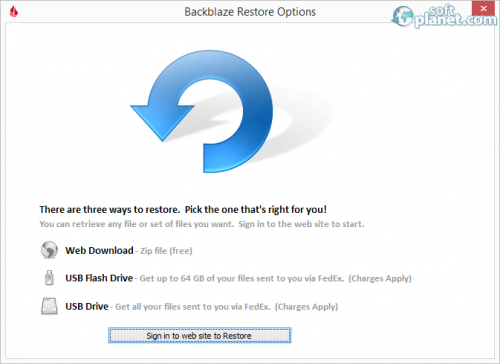 BackBlaze 2.3.0.631
