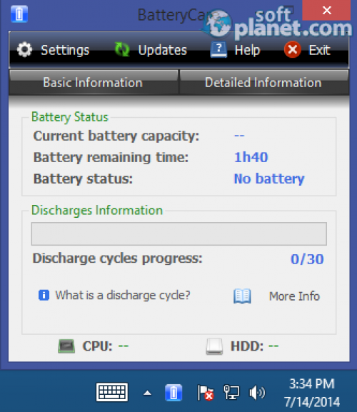 BatteryCare Portable 0.9.18.0
