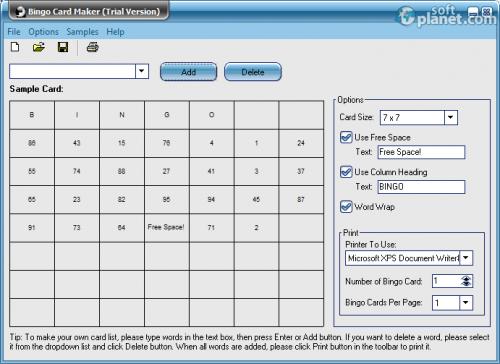 Bingo Card Maker 4.0