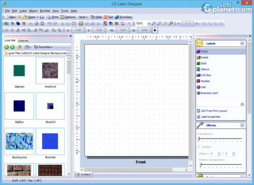 CD Label Designer 5.3 Build 594
