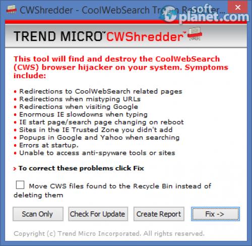 CWShredder 2.19