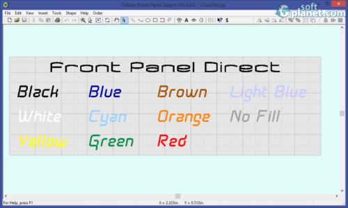 Cetina Frontpanel Designer 1.4.2