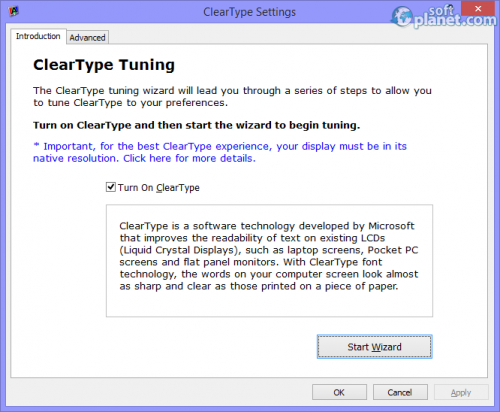 ClearType Tuner PowerToy 7.4.262.0