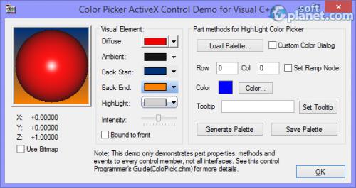 Color Picker ActiveX Control 2.01