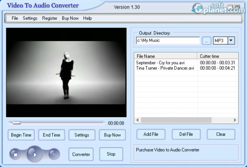Crystal Video To Audio Converter 1.30